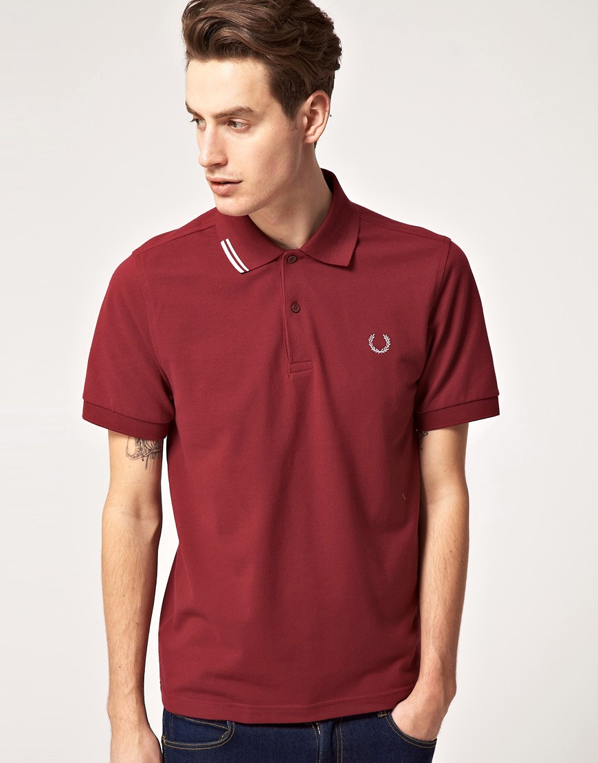 Fred Perry Laurel Wreath Start Stop Tip Polo