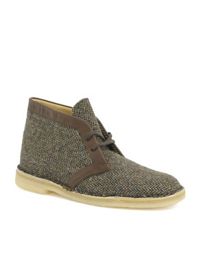 Clarks Originals Exclusive to ASOS Harris Tweed 1950s Desert Boots