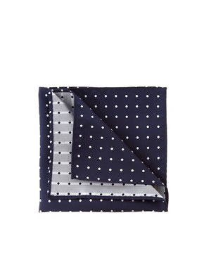ASOS Polka Dot Pocket Square