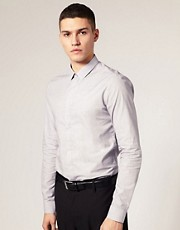 ASOS Slim Fit Shirt With Square Collar