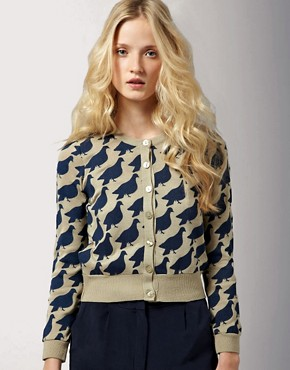 Image 1 of Sophie Hulme for ASOS Pigeon Cardigan