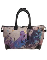 James Long Printed Weekender Bag LFW SS11