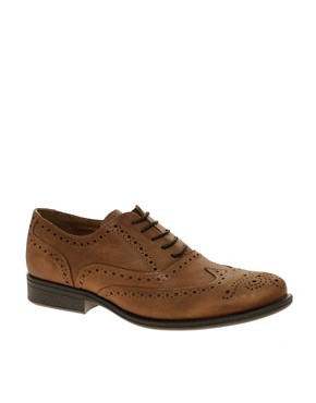 River Island Washed Leather Brogues