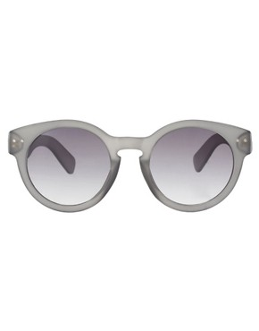 Image 2 of ASOS Grey Keyhole Sunglasses