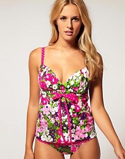 buy Freya Eden Soft Plunge Tankini Top by Freya in swimsuits shop