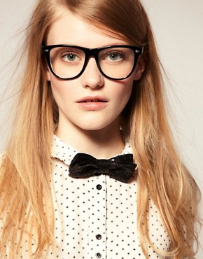 Image 1 of ASOS Sequin Bow Tie
