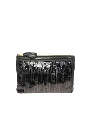 Juicy Couture Sequin Clutch Bag