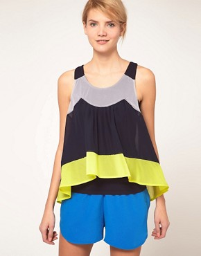 Image 1 of&#160;ASOS Cami With Colour Block Swing