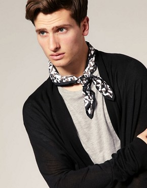 ASOS Silky Printed Neckerchief