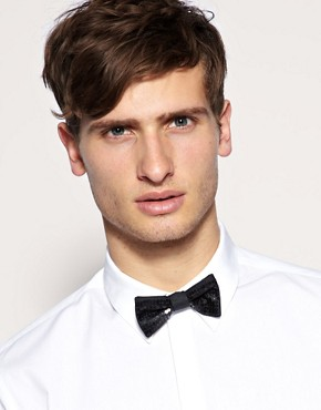 ASOS Sequin Bow Tie