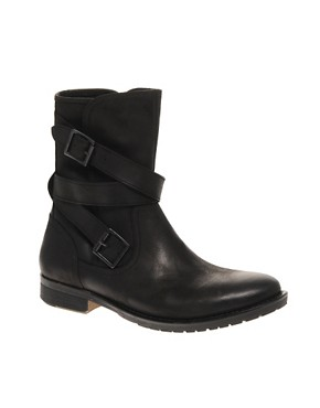 ASOS Pull On Buckle Boots