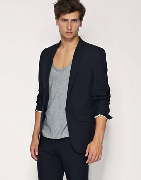 ASOS Slim Fit Navy Suit
