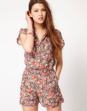Image 1 of&#160;Wal G Floral Playsuit