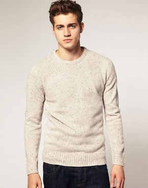 Jack &#038; Jones Intelligence Hollow Tweed Sweat