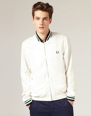 Fred Perry Laurel Wreath Bomber Tencel