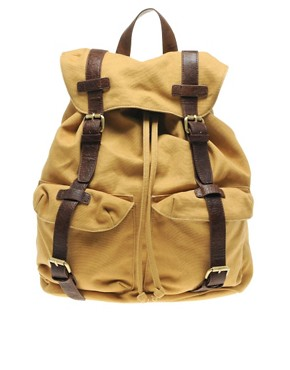 ASOS Canvas Rucksack