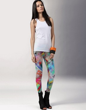 Image 1 of Ostwald Helgason at ASOS Printed Leggings