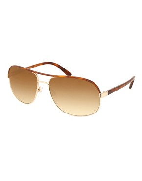Tom Ford Piere Squared Aviator Sunglasses