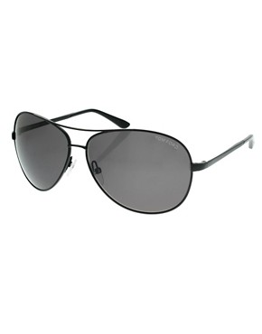 Tom Ford Charles Oversized Aviator Sunglasses