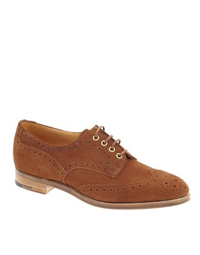 Trickers Exclusive To ASOS Bourton Suede Brogues