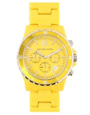 Michael Kors Yellow Bracelet Watch