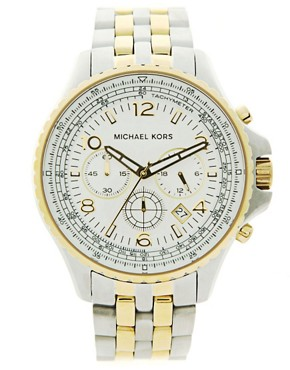 Michael Kors MK8135 Gold Plated Watch