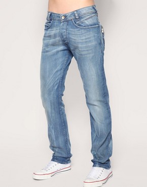 Image 1 of Diesel Poiak 8N4 Straight Jeans :