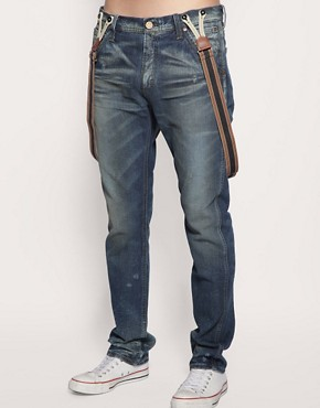 Lee 101 1954 Logger Tapered Jeans