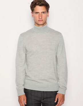 ASOS Merino Roll Neck Jumper