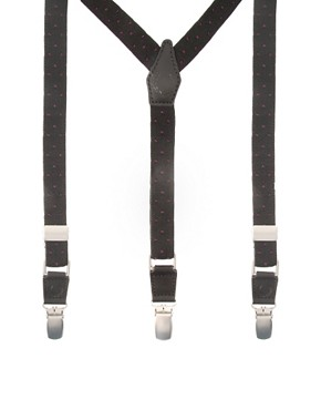 Fred Perry Slim Polka Dot Braces