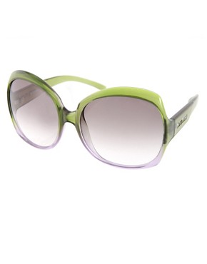 Image 1 of Miu Miu Oversized Graduated Jackie O Sunglasses