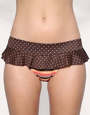 buy Freya Gemini Spot Skirted Bikini Briefs by Freya in swimsuits shop