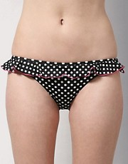 buy Paul Smith Spot Print Frill Skirted Hipster Bikini Briefs by Paul Smith in swimsuits shop