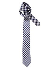 Acne Webber Check Tie