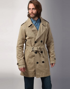 Three Over One Gerald Trench Coat