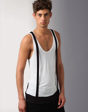 Unconditional Rayon Vest W/Braces