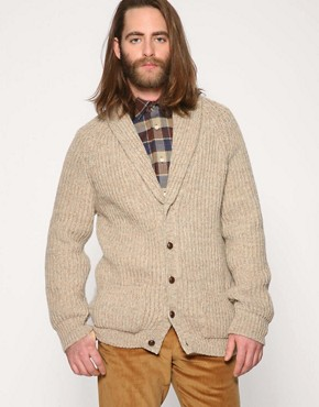 D.S Dundee Valsgarth Shawl Collar Cardigan