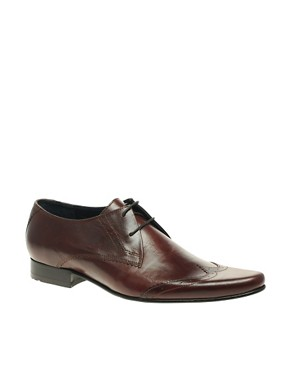 Ben Sherman Myas Brogue Wing Cap Shoes