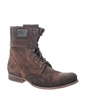 All Saints Fold Military Boots
