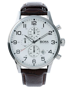 Boss by Hugo Boss Silver Dial Watch