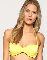 ASOS Mix and Match Twist Front Padded Bandeau